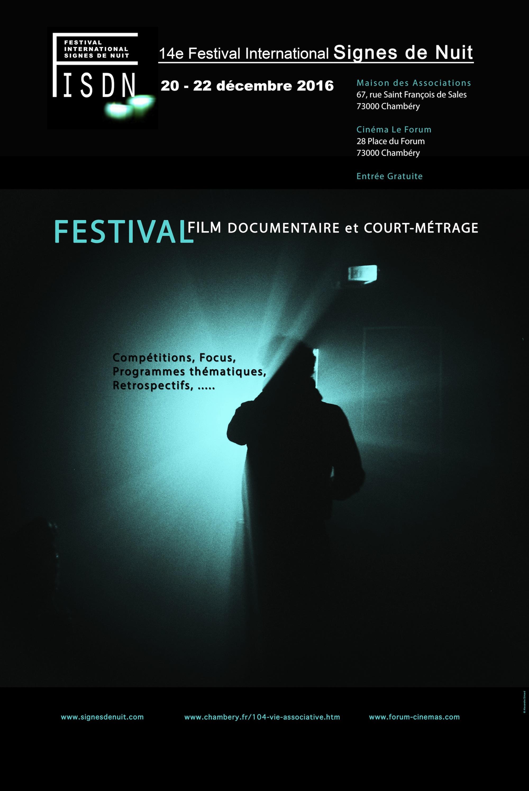14e Festival International Signes De Nuit Chambery France 2016